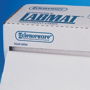 BelArt F246750000EMD Bench Liners Lined White 50FT Roll