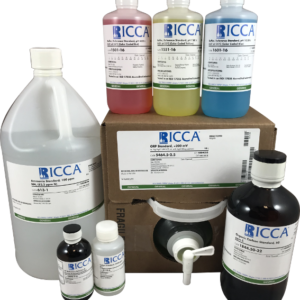 Ricca 5888.10-16, Potassium Chloride Conductivity Standard, 10,000 Microsiemens/cm at 25°C [10 mS/cm], Fisher 09-328-4 500mL 1/EA
