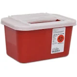 Covidien 31143699, Sharps container, 1GL, Red, Sharps-A-Gator, Slide Lid,32/CS