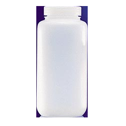 C & G LPW016100012, Bottle, 500mL, WM Packer, HDPE, Natural, Certified, BC, L, 24/CS