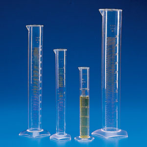 Globe Scientific 601570 Graduated cylinder, 10mL 10/CS