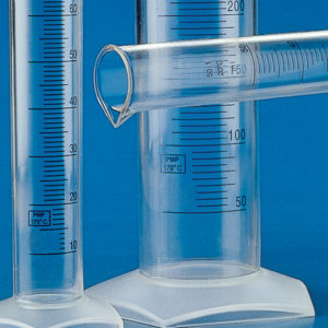 Globe Scientific 602570 Graduated cylinder, 10mL 10/CS