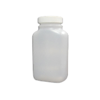 ESS 0250-1902-QC Capsure Oblong Bottle 8 oz. WM, HDPE, Bottle w/cap attached 120/case