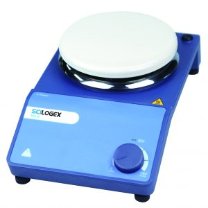 Scilogex 811111089999 SCILOGEX MS-S Circular Analog Magnetic Stirrer, ceramic plate, 220-240V, 50/60Hz, Euro Plug